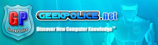 Geek Police - GeekPolice.net Header10